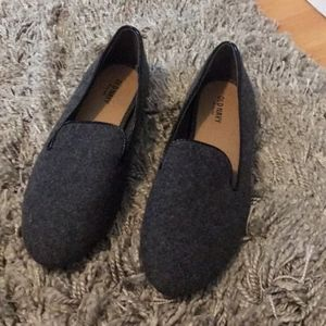 Old Navy Shoes Flats Loafers Gray Sz 9 Like New!